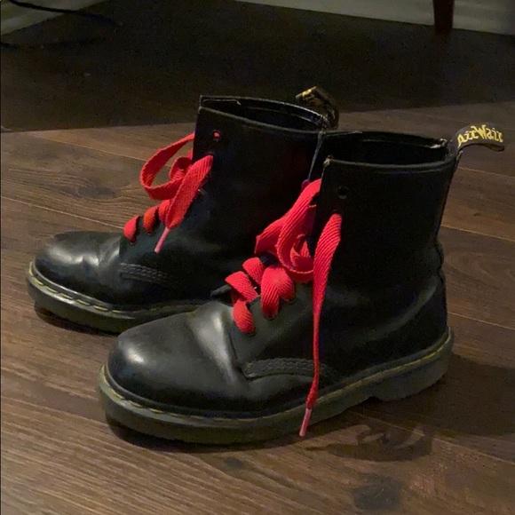 Dr Martens Black Combat Boots